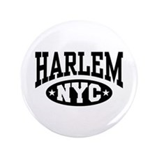 "Harlem NYC 3.5"" Button"
