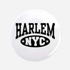 "Harlem NYC 3.5"" Button"
