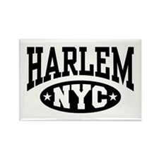 Harlem NYC Rectangle Magnet
