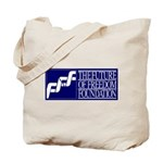 FFF Logo and quote Tote Bag