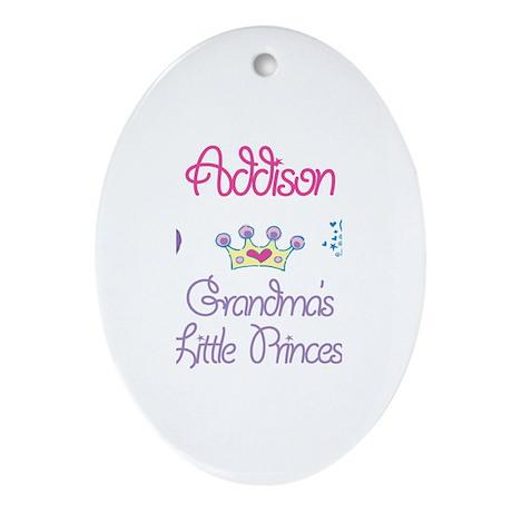 Addison - Grandma's Princess Oval Ornament