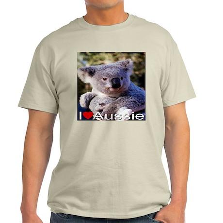 I Love Aussie Light T-Shirt
