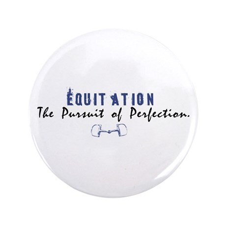 """Equitation Rider 3.5"""" Button (100 pack)"""