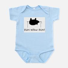 RUN Wilber RUN Infant Creeper