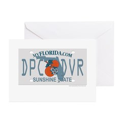 Deep Sea (Scuba) Diver Greeting Cards (Pk of 20)