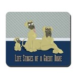 Life Stages of a Natural Fawn Dane Mousepad
