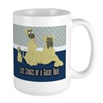 Life Stages of a Natural Fawn Dane Large Mug