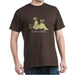 Life Stages of a Natural Fawn Dane Dark T-Shirt