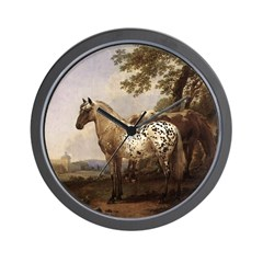 Appaloosa Painting Wall Clock