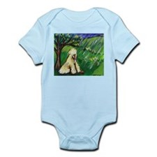 Wheaten Season Spring Infant Creeper