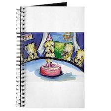 Wheaten Birthday party Journal