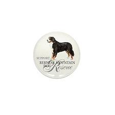 Bernese Mountain Dog Rescue Mini Button (10 pack)