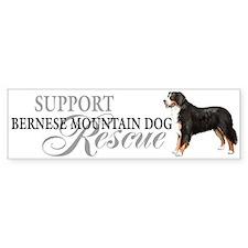 Bernese Mountain Dog Rescue Bumper Bumper Sticker