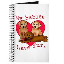 My Babies Have Fur Journal