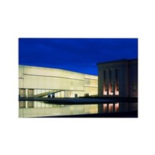 Nelson-Atkins at Night Rectangle Magnet