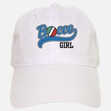Bocce Girl Baseball Baseball Cap