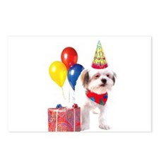 Birthday puppy Postcards (Package of 8)
