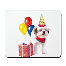 Birthday puppy Mousepad