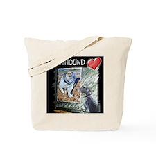 Greyhound Love Tote Bag