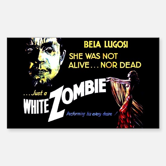 White Zombie [1932 Film] Rectangle Decal