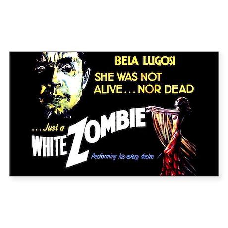 White Zombie [1932 Film] Rectangle Sticker 50 pk)