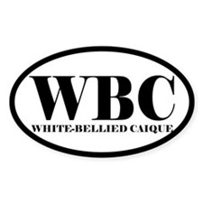 WBC Abbreviated Caique Oval Decal