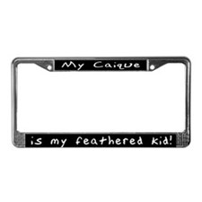 Caique Feathered Kid License Plate Frame