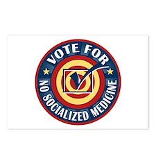 Vote for No Socialized Medicine Postcards (Package