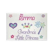 Emma - Grandma's Princess Rectangle Magnet