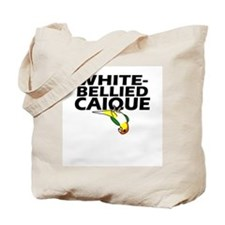 White-Bellied Caique Tote Bag