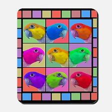 Pop Art WB Caique Mousepad