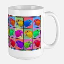 Pop Art WB Caique Large Mug
