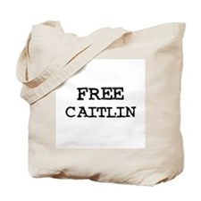 Free Caitlin Tote Bag