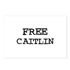 Free Caitlin Postcards (Package of 8)