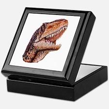 Fun Jurassic Dinosaur Head Keepsake Box
