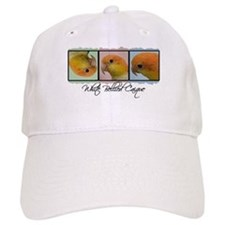 TriColor Art White Bellied Caique Baseball Cap