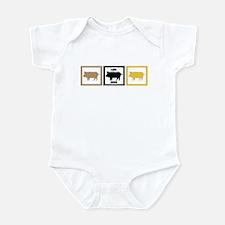 I Love Pork Adobo Infant Bodysuit