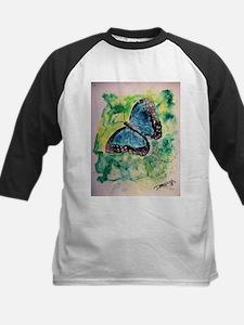 Monarch butterfly insect bota Kids Baseball Jersey