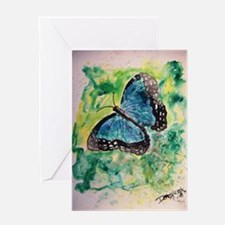 Monarch butterfly insect bota Greeting Card