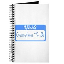 My Name Is Grandma To Be (Blue) Journal
