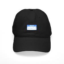 My Name Is Grandma To Be (Blue) Baseball Hat