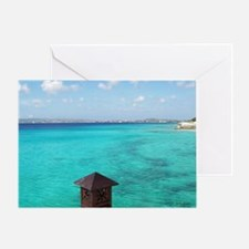 View of Paradise Greeting Card