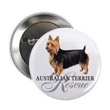 "Australian Terrier Rescue 2.25"" Button"