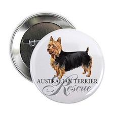 "Australian Terrier Rescue 2.25"" Button (10 pack)"