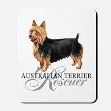 Australian Terrier Rescue Mousepad