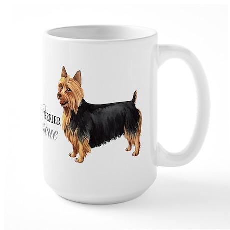 Australian Terrier Rescue Large Mug