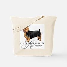 Australian Terrier Rescue Tote Bag