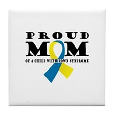 DS Proud Mom Tile Coaster