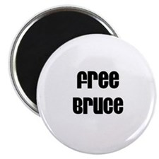 Free Bruce Magnet