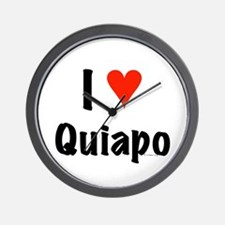 I love Quiapo Wall Clock